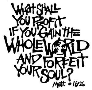 Randall Daluz - Matthew 16:26