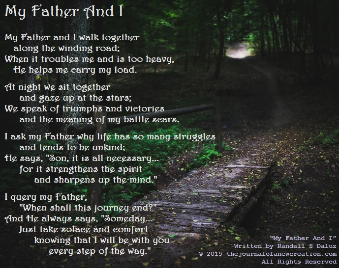 My Father And I - by Randall S Daluz